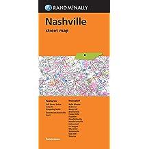Folded Map Nashville Street Map