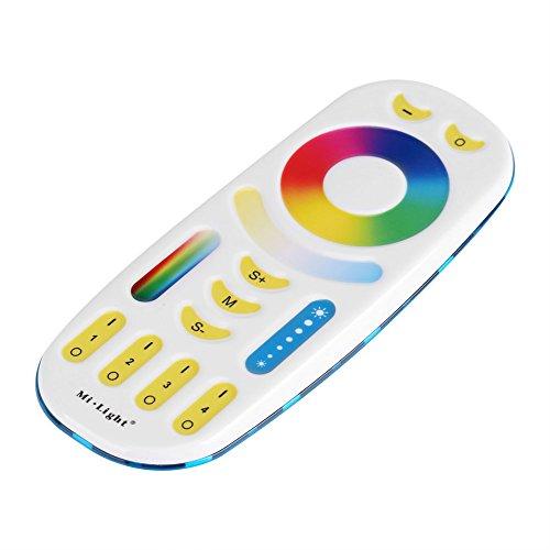 Yosoo- Milight 2.4GHz Wireless 4-Zone Group Control RGB+CCT Remote Controller by Yosoo-