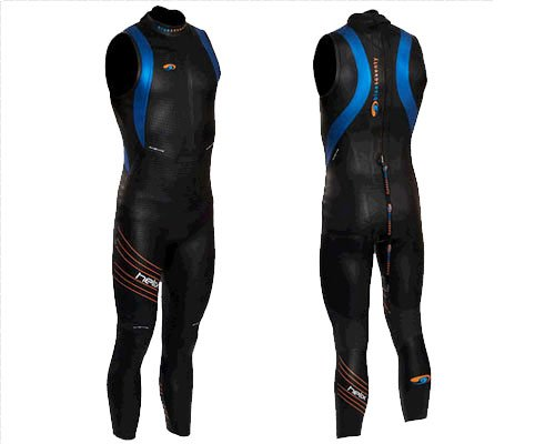 Blue Seventy Men's Sleeveless Helix Wetsuit - 2012 - SMT (Wetsuits Blueseventy Core)