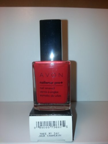 Avon Nailwear Pro+ Nail Enamel (Make My Day Red)