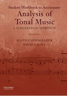 Introduction to schenkerian analysis allen forte steven e gilbert analysis of tonal music a schenkerian approach workbook fandeluxe Images