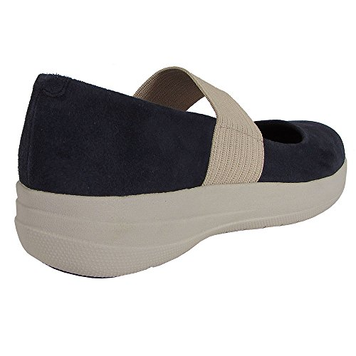 Fitflop Femmes F-sporty Mary Jane Chaussures En Daim Supernavy