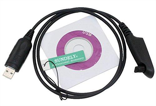 SUNDELY® High Quality USB Programming Cablefor Motorola Radios GP380 GP640 RO7750 PTX700 MTX1550 Multi-pin