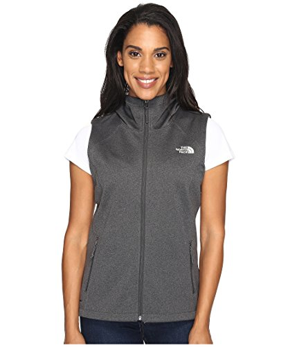 - The North Face Women's Canyonwall Hoodie Vest TNF Dark Grey Heather (Prior Season) Outerwear