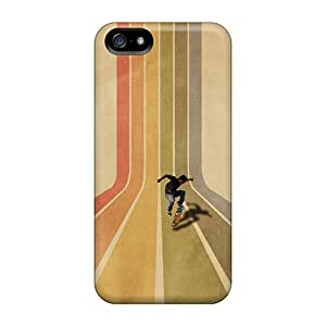 Iphone 5/5s Case Cover Skateboarder Case - Eco-friendly Packaging