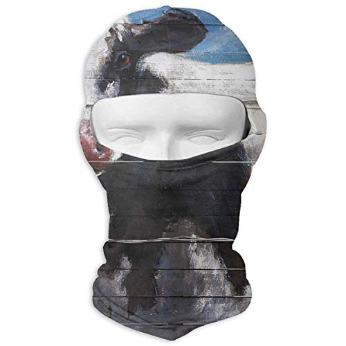 Leopoldson Ella Elaine Lester Cow Balaclava UV Protection Windproof Ski Face Masks for Cycling Outdoor Sports Full Face Mask Breathable]()