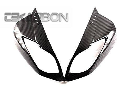 2009 - 2012 Kawasaki ZX6R Carbon Fiber Front Fairing - Twill ()