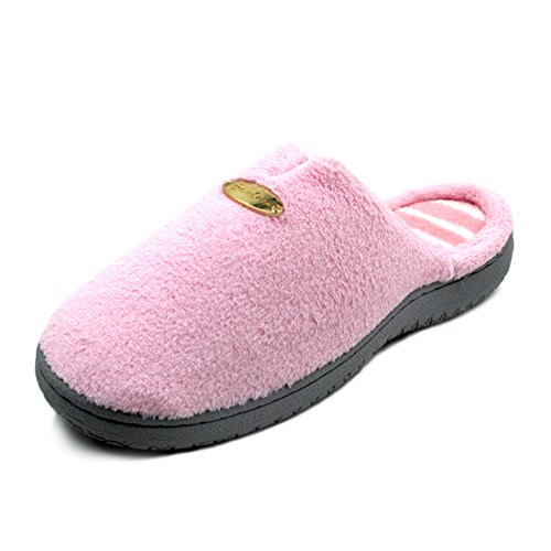 Velvet Pink Outdoor Cozy Womens Slipper Slippers Starfarm Clog Indoor House Coral wUqXxR7