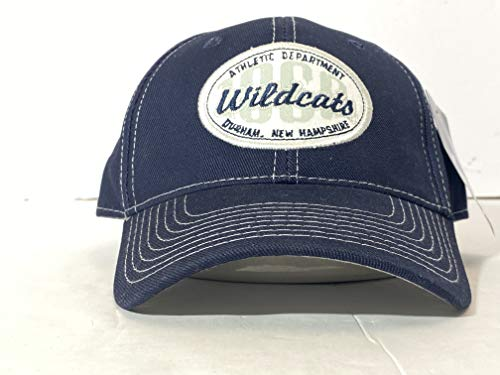 Signatures NCAA New Hampshire Wildcats Adjustable Buckle Back Embroidered Blue Hat (Merchandise Of University New Hampshire)