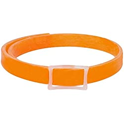 Flea&Tick Collar, Herbal Repellent Prevention Treatment For Kitten Cat, Large Dog, Pet Quick and Long Lasting Protection Flea Control Collar, Kills Flea, Ticks and Bugs Effectively - Orange