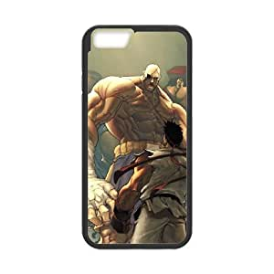 iPhone 6 4.7 Inch Cell Phone Case Black Street Fighter wfxp