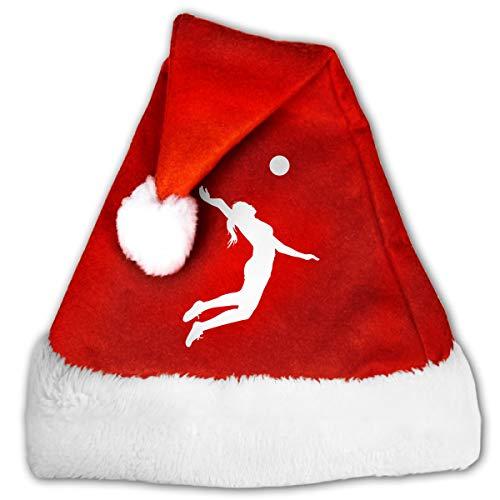 (Unisex Christmas Hat Volleyball Woman Player Santa)