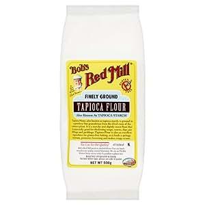Bob's Red Mill Gluten Free Tapioca Flour (500g) - Pack of 2