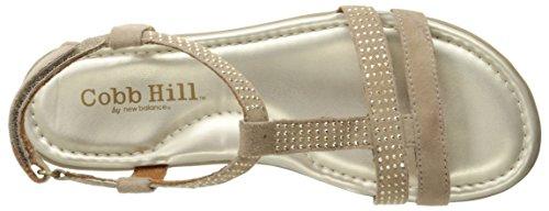 Cobb Hill Rockport Vrouwen Julie-ch Platte Sandaal Champagne