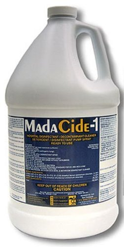 Madacide 1 Cleaner Disinfectant - MadaCide-1 Disinfectant Cleaner - 1 gallon