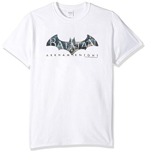 Trevco Men's Batman Arkham Knight Descending Logo Adult T-Shirt at Gotham City Store