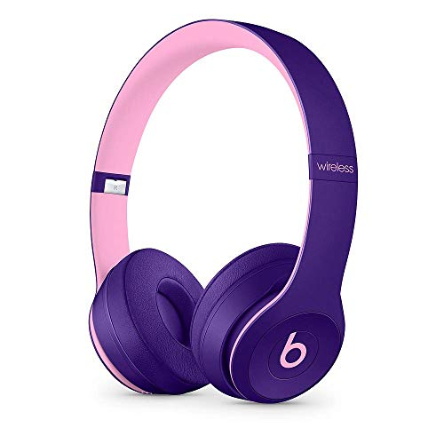 Beats Solo3 Wireless On-Ear Headphones Pop Collection- (Renewed) (Pop Violet)