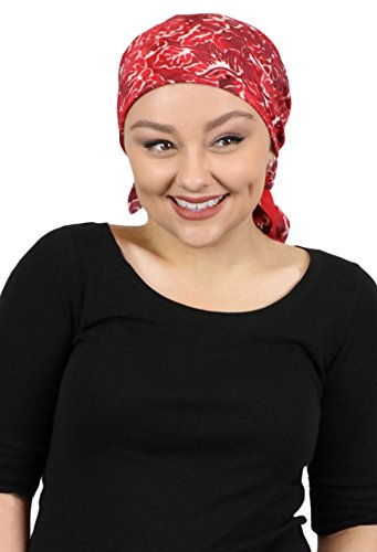 Scarf Cranberry - Chemo Scarves for Women Head Scarf Wrap Headscarf Cancer Headwear 27