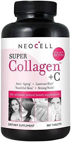 Super Collagen Super Collagen + C Supplement (360Count), 360Count