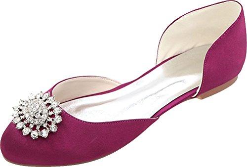 Nice EU Femme 5 Sandales Compensées Violet Violet Find 36 gSxqpwR8R
