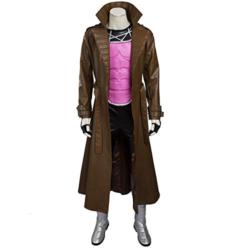 The X-Men Series Gambit Remy Etienne Cosplay Costume Armor Customize Full -