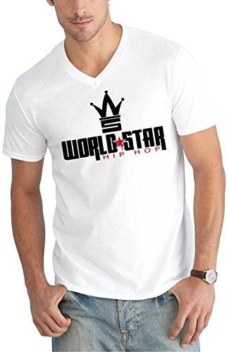World Star V-Neck White Certified Freak