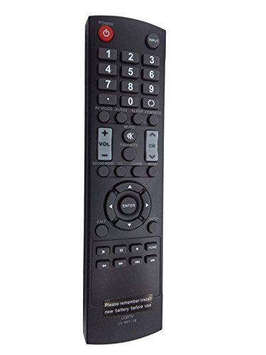 New Remote Controller LCDTV LC-RC1-16 LCRC116 fit for SHARP LC-50LB370U LC-32LB370U LC-32LB370 LC-32LB261U LC-42LB261U LC-50LB261U LC-32LB150U LC-42LB150U LC-50LB150U LC-43LB370U (Remote Sharp Lcdtv Control)