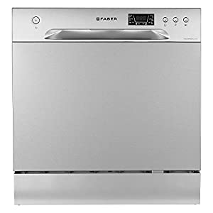 Faber FFSD 6PR 8S Ace Inox Table Top 8 Place Setting Dishwasher