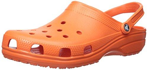 Croslite Crocs Clogs Classic Unisex Adults Tangerine Orange 55r6U4qx