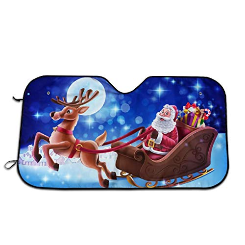 (LAIUE Christmas Santa Present Protect Car Interior)