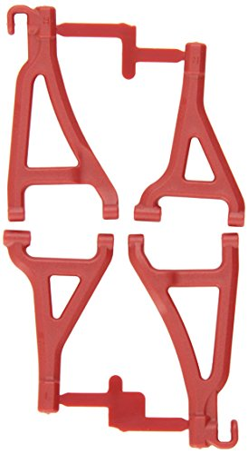RPM 80699 Front Upper/Lower A-Arms Red 1/16 E-Revo Red ()