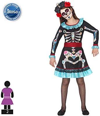 Atosa – Disfraz del Fantasma de Catrina: Amazon.es: Juguetes y juegos