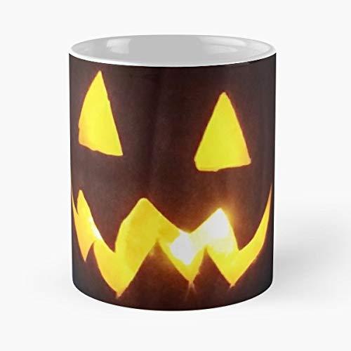 (Pumpkin Jack O Lantern Halloween Fall Gift Coffee/tea Ceramic Mug 11)