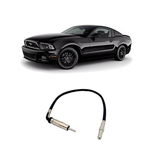Fits Ford Mustang 2007-2014 Factory Stereo to Aftermarket Radio Antenna Adapter - Mustang Ford Aftermarket