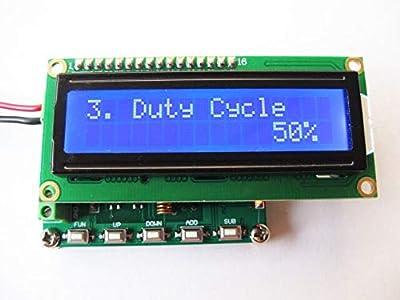 Utini DDS FM Signal Generator 78~108MHz PLL high-Precision Digital Display LCD minitype
