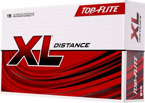 (Top Flite XL Distance White (15 Pack)