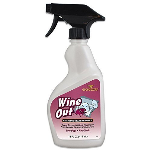 Gonzo Wine Out Red Wine Stain Remover 14 Fl. Oz. Spray