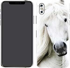 Switch iPhone X Skin White Horse