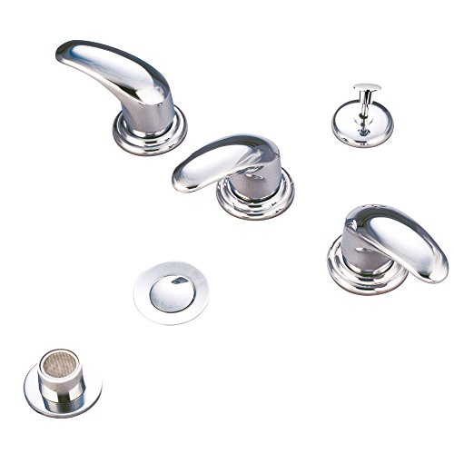 Kingston Brass Kb6321Ll Bidet Faucet With Metal Lever Handle