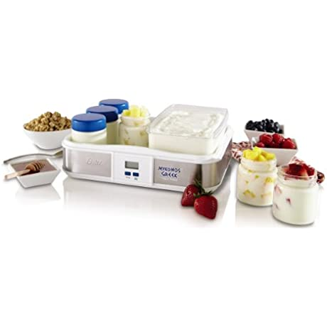 Oster CKSTYM1012 Mykonos Greek Digital Yogurt Maker 2 Quart