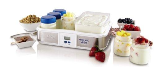 Oster CKSTYM1012 Mykonos Greek Digital Yogurt Maker, - Store Mykonos