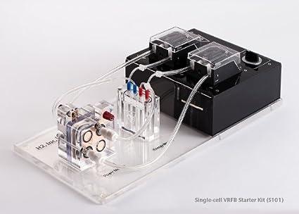 Amazon com : Single-cell Vandium Redox Flow Battery Starters