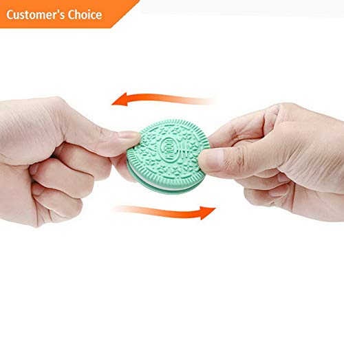 (Hebel Food Grade Cookies Chew Toys Bite Necklace Nursing Biscuit Baby Teethers | Model SPDSHS - 703 |)