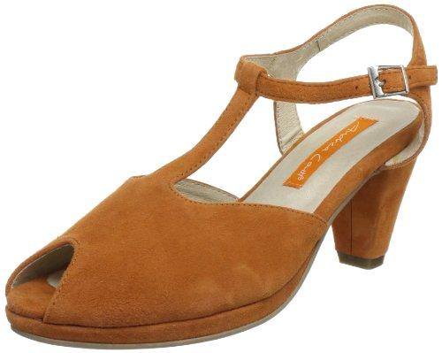 Sandali Tacco Col Arancione 025 orange Donna 0615317 Conti Andrea 7wEUSS