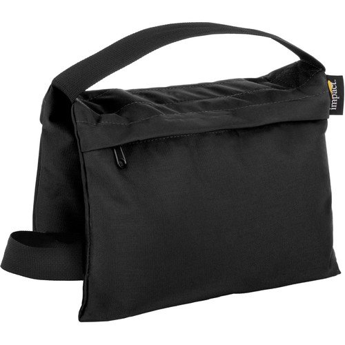 Impact Cordora Saddle Sandbag - 15LB Black Stabilizing Weight(3 Pack) by Impact