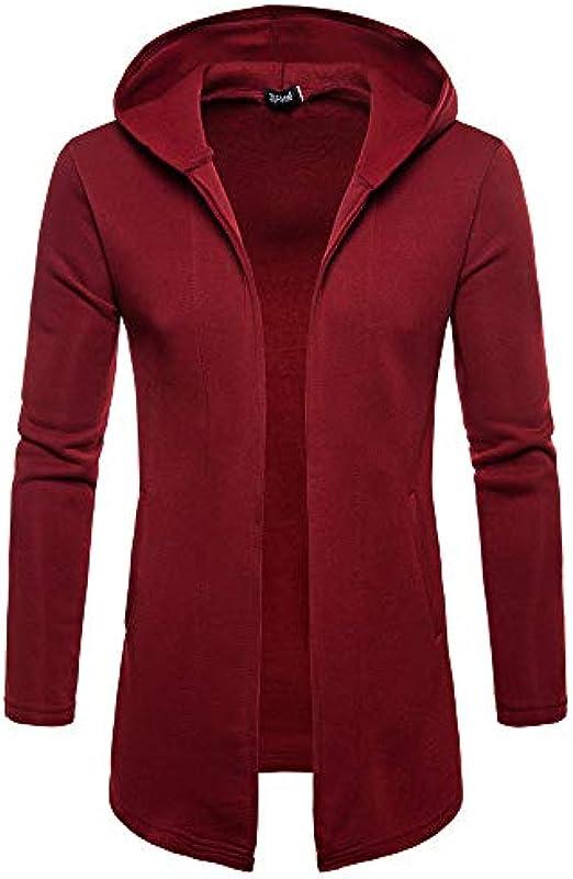 Allence męska kurtka z dzianiny Cardigan Open Jacke Knit Codzienne cienkie płaszcz Sweatshirt Sweatblazer męski Ulubiony płaszcz w czystych kolorach szal losowy Długość dziergany płaszc