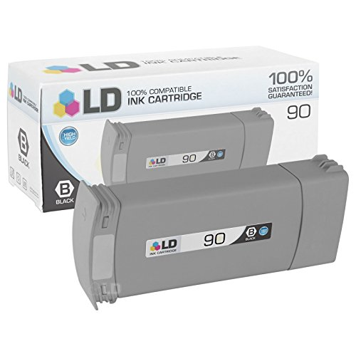 LD Remanufactured Ink Cartridge Replacement for HP 90 C5059A High Yield (Black)