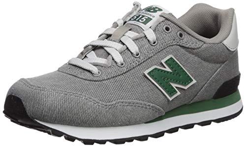 (New Balance Boys' 515v1 Running Shoe Marblehead/Team Forest Green 12 W US Little)