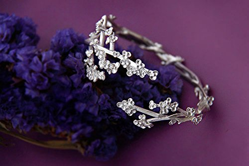 S925 Silver Hand-made Bracelet / Fashion & Personality Women Silver Bracelet / Summer's Flower by softgege