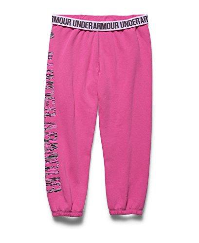 Under Armour Women's UA Fleece Capri, Rebel Pink/Luna Peach, LG (US 12-14) X 22 by Under Armour (Image #3)